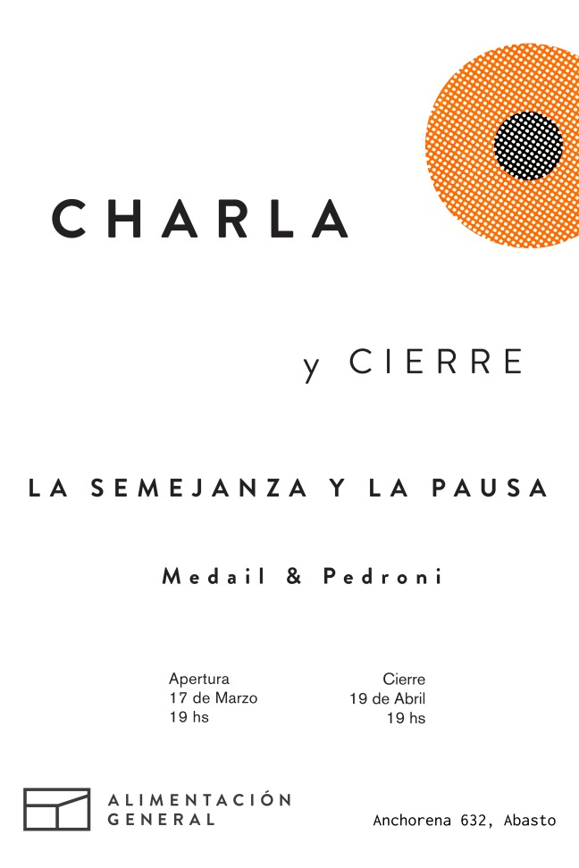 Medail & Pedroni charlaycierre
