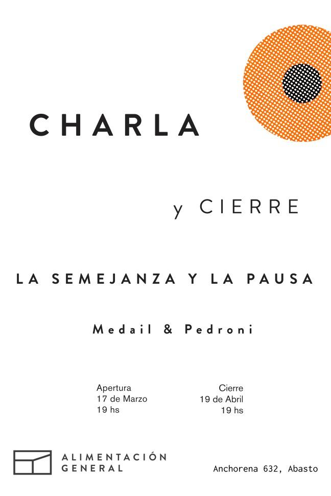 Medail & Pedroni charlaycierre